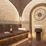 Mozaik Taş Dokulu Buhar Odası
