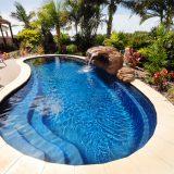 Süs Dekorasyonlu Yüzme Havuzu